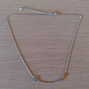 """H"" initial necklace"